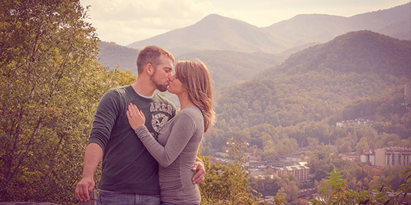 Engagement Pictures Gatlinburg