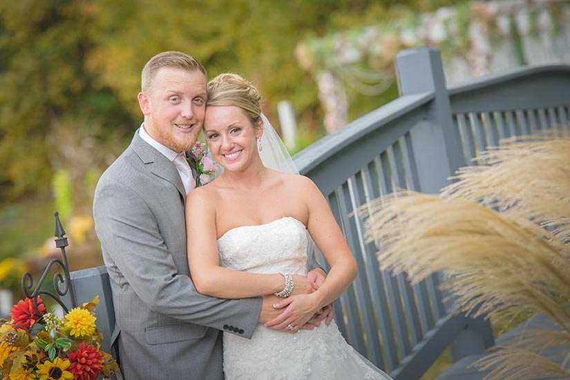 Gatlinburg Wedding couple